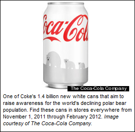 Coca Cola's Save the Polar Bear Campaign