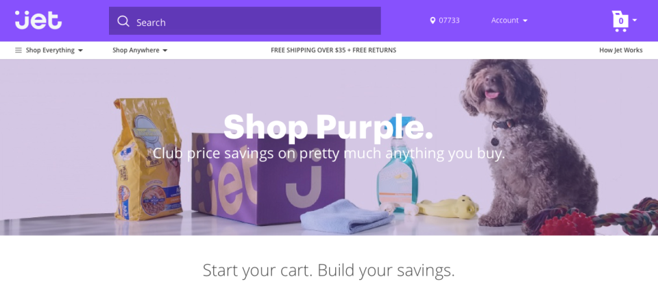 Jet.com launches with a strong brand image and point of view